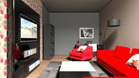 Red room - Living room - by vydrovamisulka1