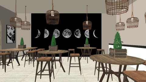 Part 1 Of My Coffee Shop - Rustic - by KimDaNinja