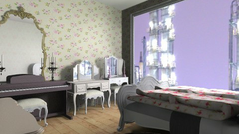Tokyo Apartment Bedroom - Bedroom - by dailene