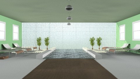 pool - Modern - Garden - by jonesyy54