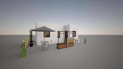 Proposed Food Stall - Garden - by ARNOLD QUITA