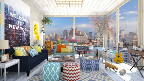 Sunroom in the Big Apple - Modern - Garden - by creativediva