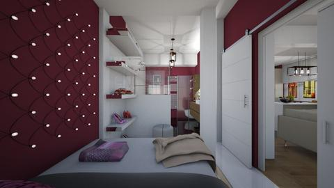 Variations_from Bed - Modern - Bedroom - by Laurika