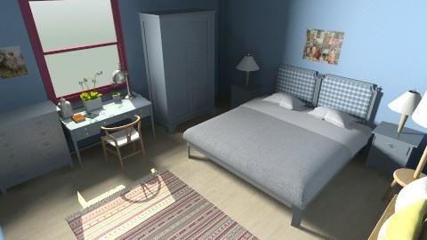 h - Country - Bedroom - by Gabriella Aloia