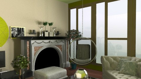 Botanika - Modern - Living room - by Dyka33