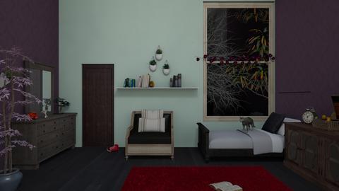dasha derevianko - Bedroom - by doraldragons