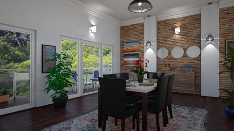 Eating Area - Modern - Dining room - by laurenpoisner