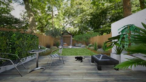 garden idea no 3 - Modern - Garden - by kitty