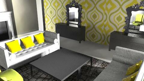 Green 2 Living room - Living room - by vina sian