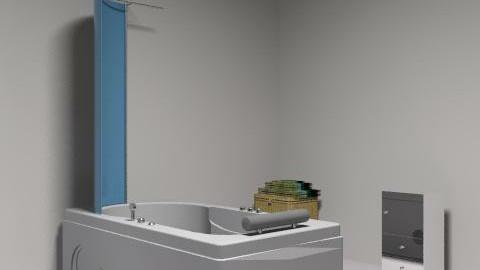 banheiro - Retro - Bathroom - by alicesantosribeiro
