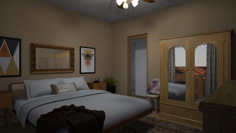 Flat 24 Bedroom - Rustic - Bedroom - by RaeCam