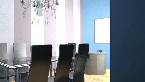 graeme dining room - Masculine - Dining room - by interior motives