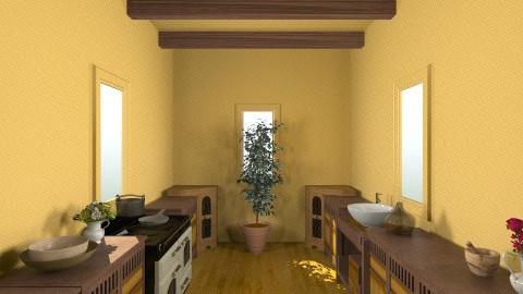 Pueblo - Rustic - Kitchen - by HGranger2