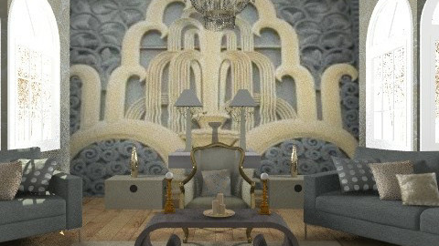 fenton 2 - Glamour - Living room - by trees designs