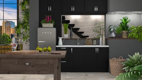 Urban Jungle Cooking - Kitchen - by LB1981
