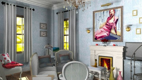 My tower apartment sitting room - Country - Living room - by alleypea