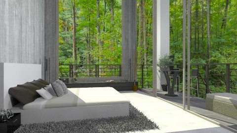 forest - Modern - Bedroom - by fisgalor1996