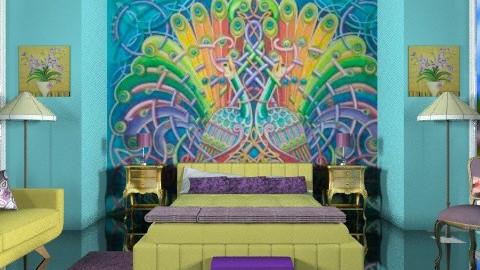 deco diva - Retro - Bedroom - by trees designs