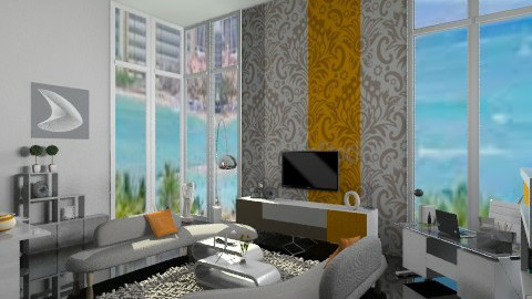 city - Living room - by dina_szab