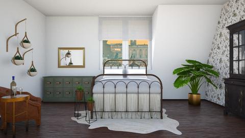 Sloped Room - Bedroom - by llama18