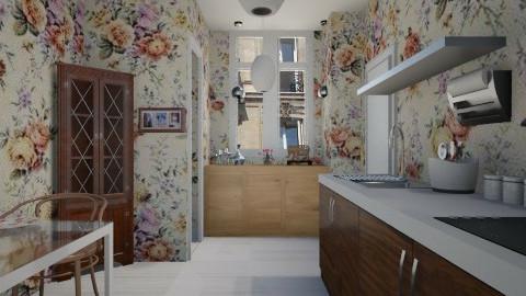 Paris tiny room - Country - Kitchen - by Karine Hakobayan