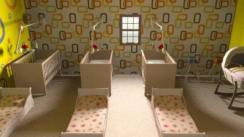 My nursery room.. - Modern - Kids room - by jia khan