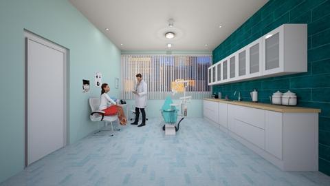dentista - Office - by virgen