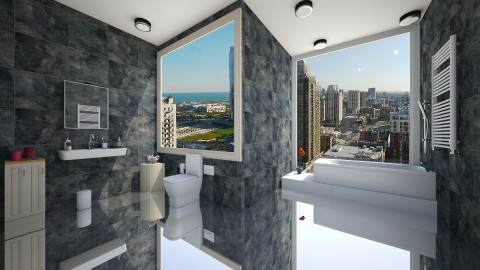 Modern and Urban Bathroom - Bathroom - by TK Designs
