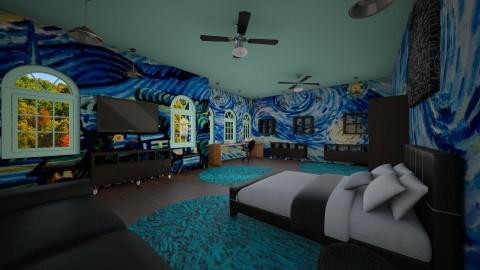 Van Gogh - Bedroom - by Jrussell29