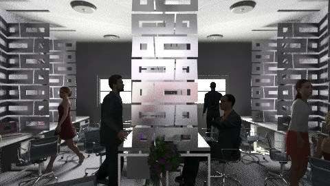 Ezjey See Ideal Office - Minimal - Office - by sarah_jing24