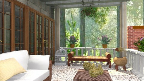 Siesta - Modern - Garden - by milyca8