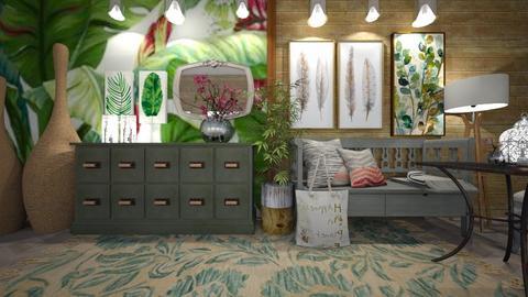 hoja - Living room - by ana111