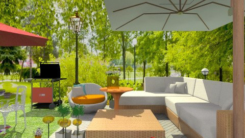 jardinext - Classic - Garden - by Jen Guerra