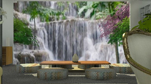 Waterfalls - Dining Room - by Open Spaces