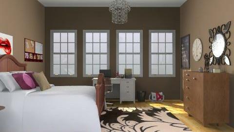 Cool Mature Bedroom - Feminine - Bedroom - by yankees2