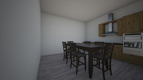cocina - Kitchen - by laramagistral