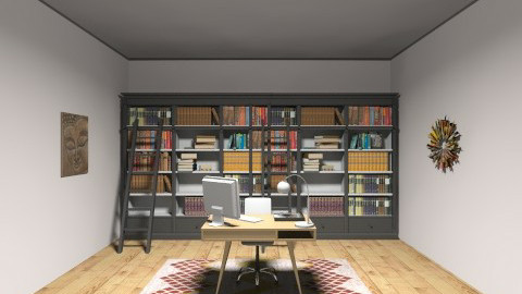 Office that you can love! - Rustic - Office - by Charlotte Tayeh