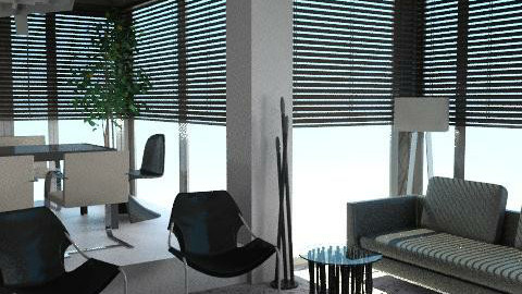 Urban black - Eclectic - Living room - by liling