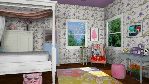teen room - Bedroom - by russian wolf