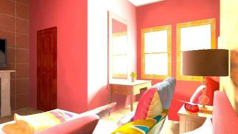 le bedroom de suite - Retro - Bedroom - by Nhezart Designs