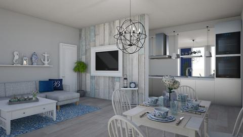 Kitchenandliving - Living room - by Show_off