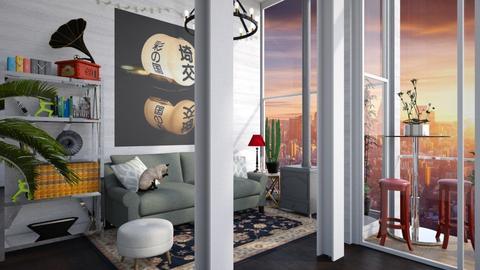 Gallealio - Living room - by _firecrackers