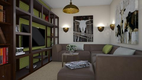 For sam_bridgeman - Eclectic - Living room - by Theadora