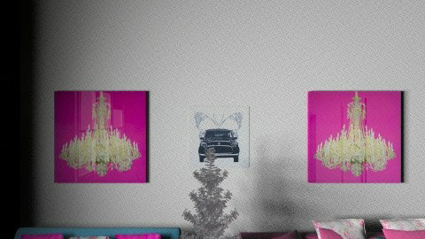 my dream - Living room - by cute1394