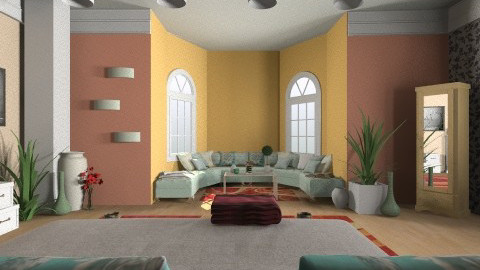 Warm Dusky Day - Glamour - Bedroom - by Suzanne Hoskins