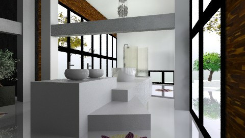 catwalk - Minimal - Bathroom - by kukimag