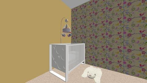 girl nursery  - Kids room - by elizabethharloff