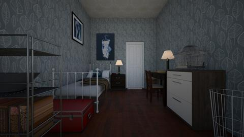 Ze - Bedroom - by scourgethekid