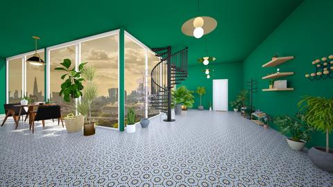 urban jungle hallway - Modern - by SueandEs