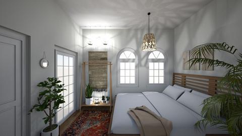 Bohemian Bedroom - Bedroom - by brontevankesteren